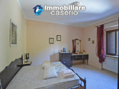 Detached country house with land and wooden veranda for sale in Carunchio 14