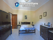Detached country house with land and wooden veranda for sale in Carunchio 15