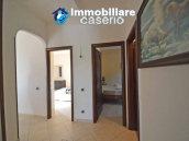 Detached country house with land and wooden veranda for sale in Carunchio 17