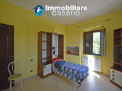 Detached country house with land and wooden veranda for sale in Carunchio 19