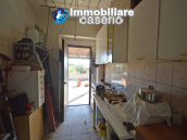 Detached country house with land and wooden veranda for sale in Carunchio 20