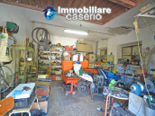 Detached country house with land and wooden veranda for sale in Carunchio 22
