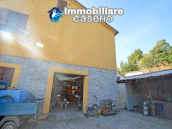 Detached country house with land and wooden veranda for sale in Carunchio 23
