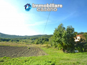 Detached country house with land and wooden veranda for sale in Carunchio 26