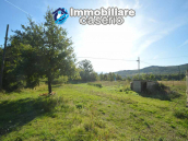 Detached country house with land and wooden veranda for sale in Carunchio 27