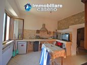 Detached country house with land and wooden veranda for sale in Carunchio 4