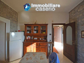Detached country house with land and wooden veranda for sale in Carunchio 5