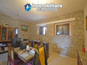 Detached country house with land and wooden veranda for sale in Carunchio 6