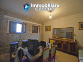 Detached country house with land and wooden veranda for sale in Carunchio 7