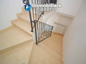 Detached country house with land and wooden veranda for sale in Carunchio 9