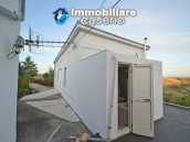 Detached country house with terrace, barn and land for sale in the Abruzzo region 23