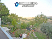 Detached country house with terrace, barn and land for sale in the Abruzzo region 24