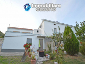 Detached country house with terrace, barn and land for sale in the Abruzzo region 5