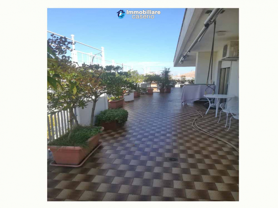 Penthouse on two floors with attic completely renovated for sale in Lanciano, Italy