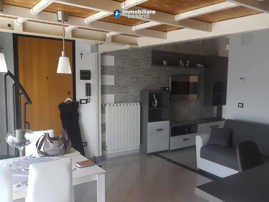 Modern apartment with sea view balcony for sale in the Molise Region