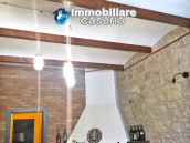 House with terrace completely renovated on four levels for sale on the Abruzzo hills 14