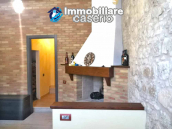 House with terrace completely renovated on four levels for sale on the Abruzzo hills 15