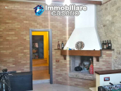 House with terrace completely renovated on four levels for sale on the Abruzzo hills 16