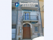 House with terrace completely renovated on four levels for sale on the Abruzzo hills 23