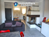 House with terrace completely renovated on four levels for sale on the Abruzzo hills 1