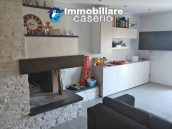 House with terrace completely renovated on four levels for sale on the Abruzzo hills 3