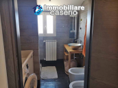House with terrace completely renovated on four levels for sale on the Abruzzo hills 5