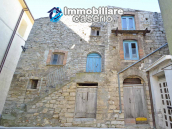 Stone house to renovate for sale in Liscia, Abruzzo country with two grocery stores 1
