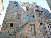 Stone house to renovate for sale in Liscia, Abruzzo country with two grocery stores 2