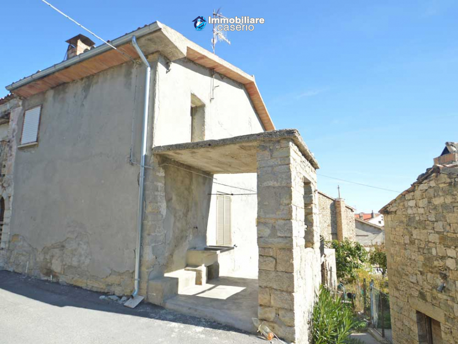 Property consisting of two houses with terrace and garden for sale in Abruzzo,Italy
