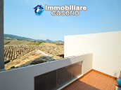 Large historic building with two terraces for sale in Molise 43