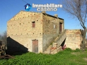Agricultural land and stone house for sale in Petacciato, Campobasso, Molise 1