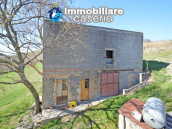 Country house to renovate on two floors with terrace and land for sale in Abruzzo 22