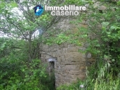 Two stone ruins with land for sale in Guilmi, Abruzzo, Italy 1