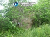 Two stone ruins with land for sale in Guilmi, Abruzzo, Italy 2