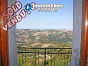 House for sale in an ancient village with sea view in Molise, Italy 1