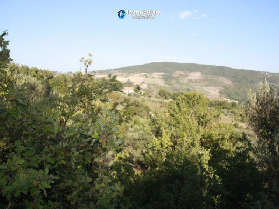 Land of 4000sqm with ruin to rebuild entirely in Palmoli