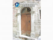 Stone house to be restored, reduced price, for sale in Castelbottaccio, Molise, Italy 1