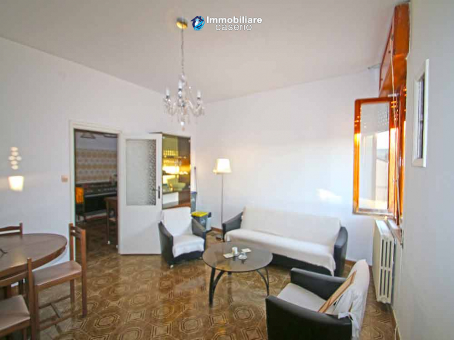 Renovated house with wooden veranda for sale in Italy, Molise