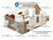 Habitable town house with garage for sale in San Buono, Abruzzo, Italy 26