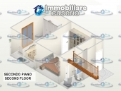Habitable town house with garage for sale in San Buono, Abruzzo, Italy 34