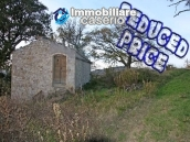Stone house with an acre of land for sale in Palmoli, Abruzzo 1
