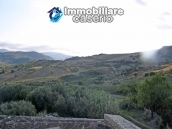 Stone village house to renovate with garden and a view hills for sale Abruzzo, Italy 2