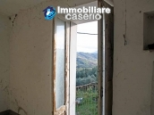 Stone village house to renovate with garden and a view hills for sale Abruzzo, Italy 5