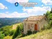 Stone country house with land for sale in Molise, Italy 1
